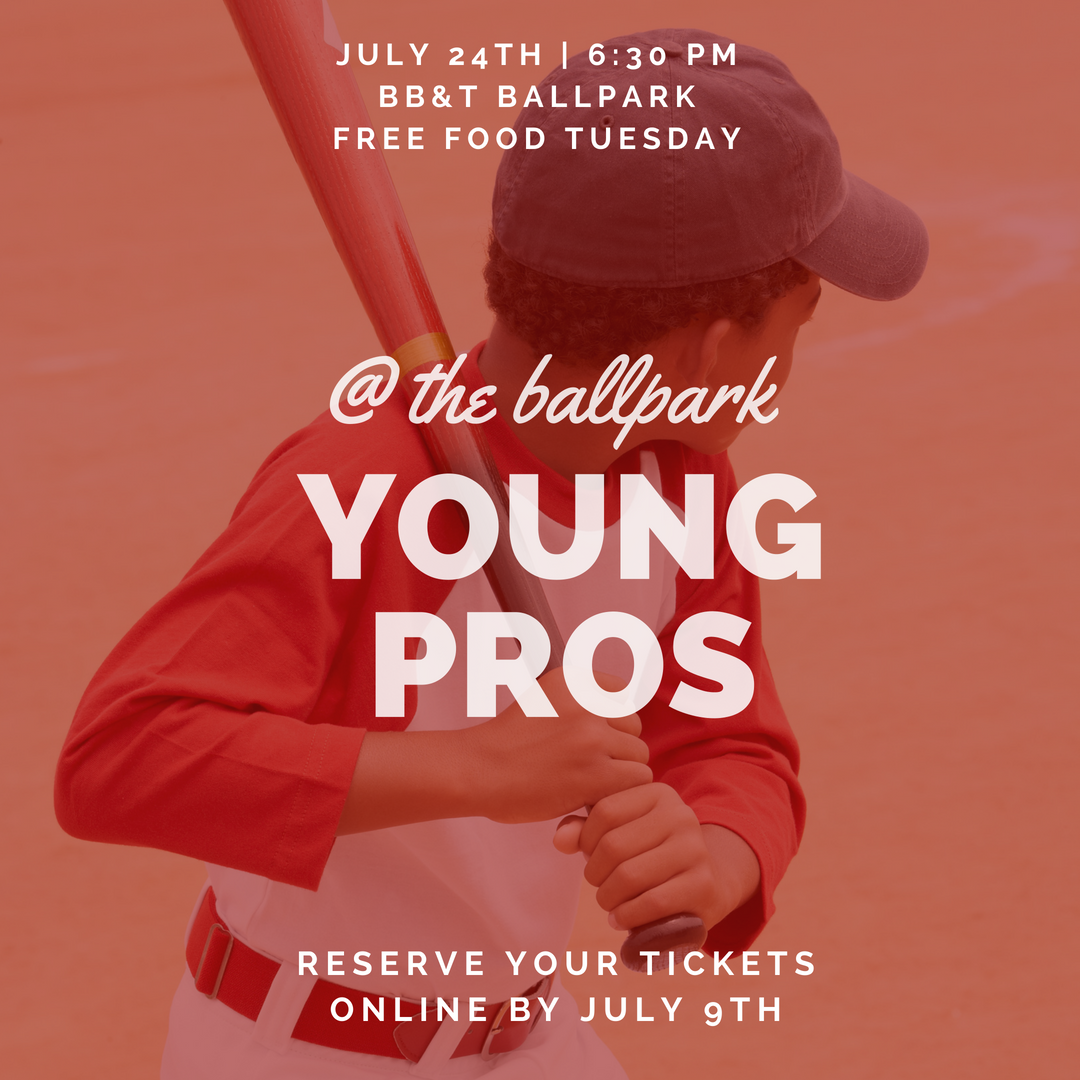 Young pros at the ballpark  1