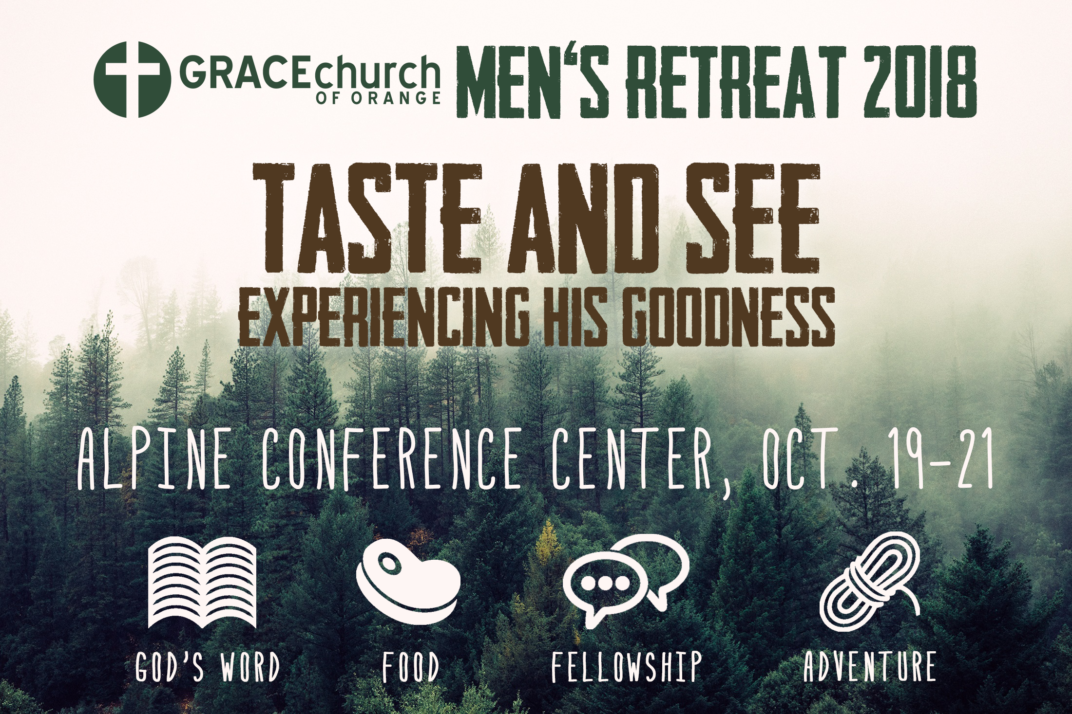 Mens retreat 2018