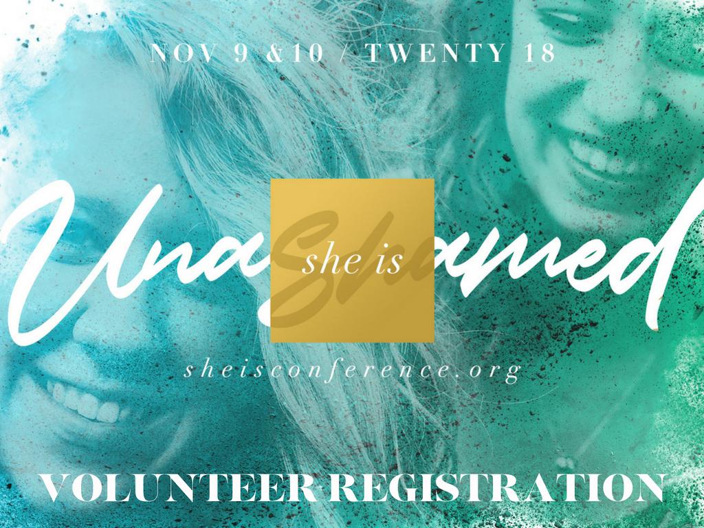 She is volunteer registration  3