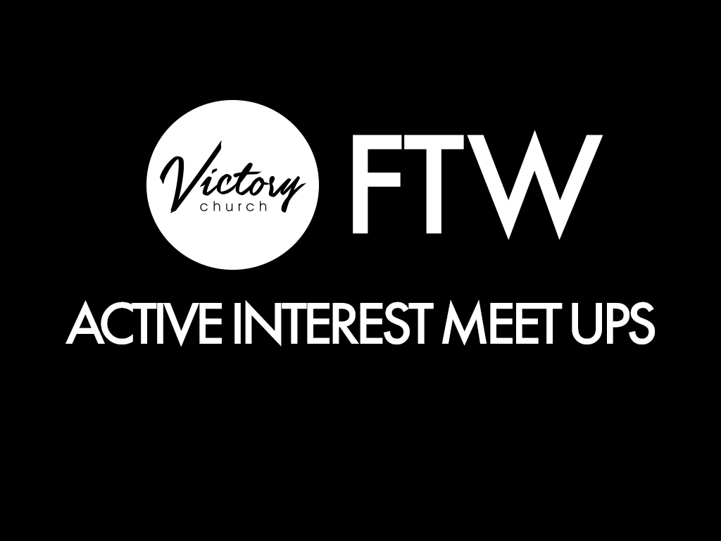 Active interest meet ups
