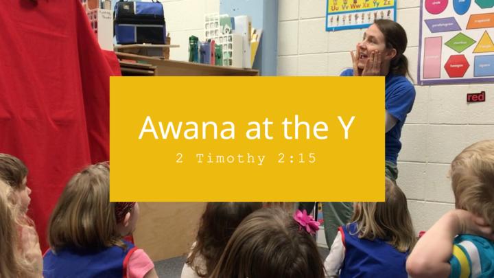 Awana @ the Y | 2018-19 logo image