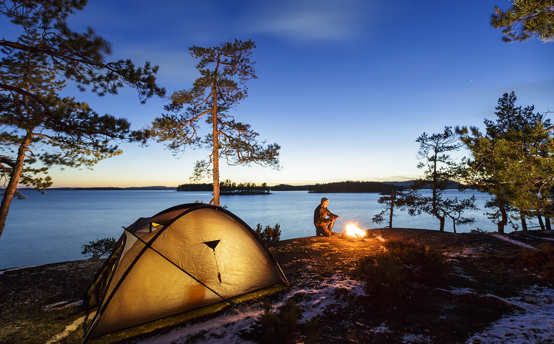 Camping finland