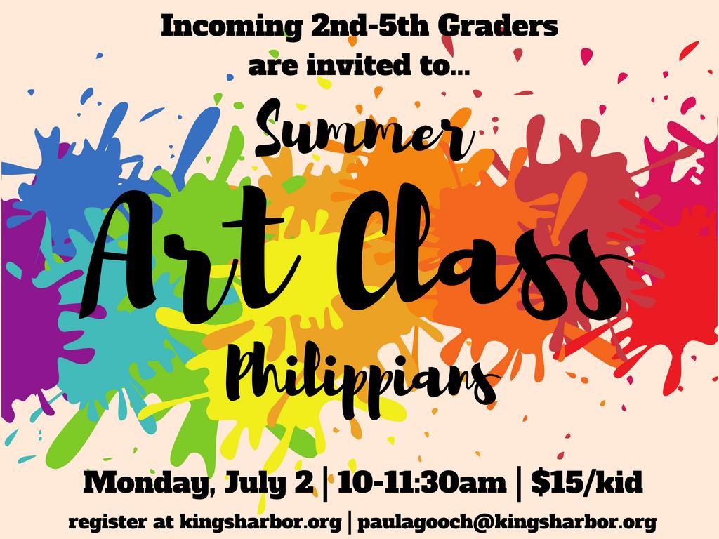 Summer art class 3.1