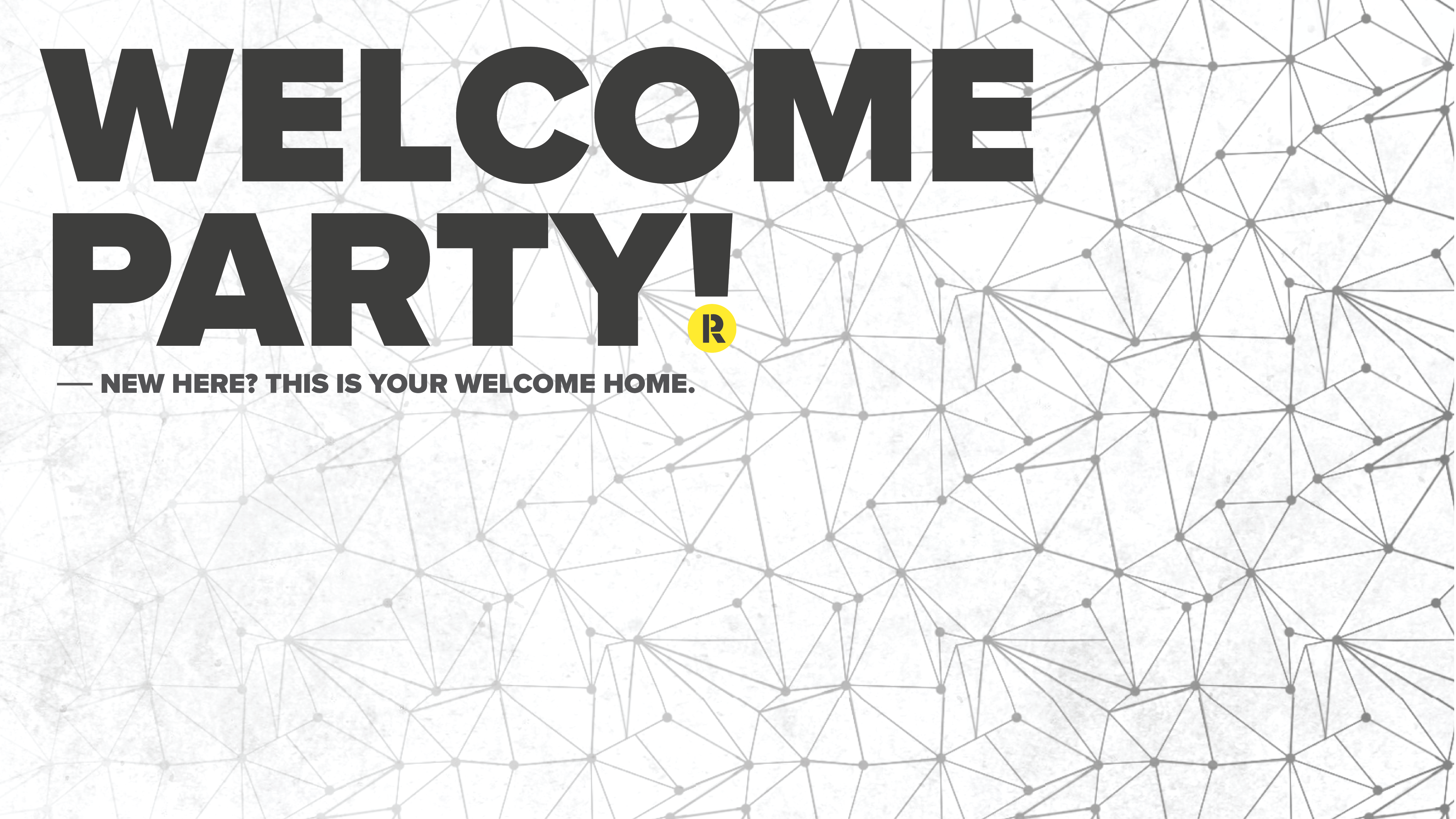 Welcome party1 main graphic