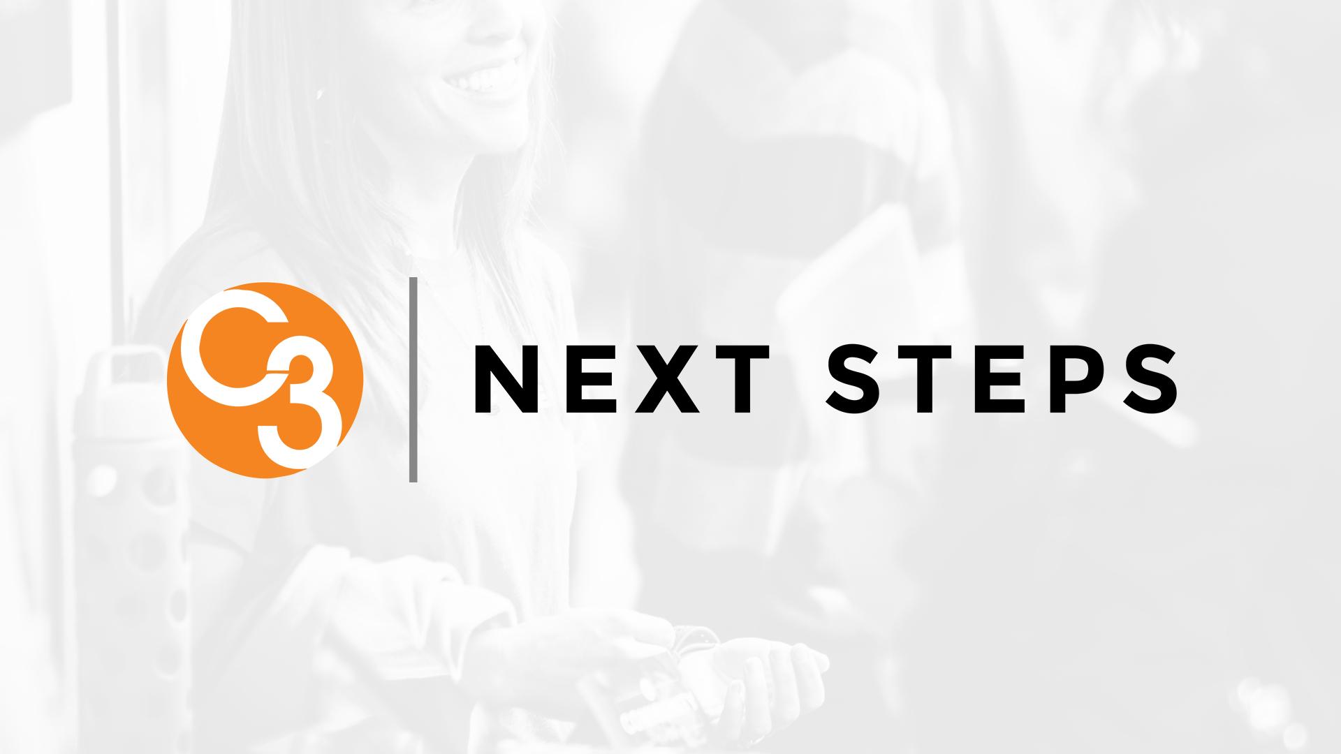 Next steps slide