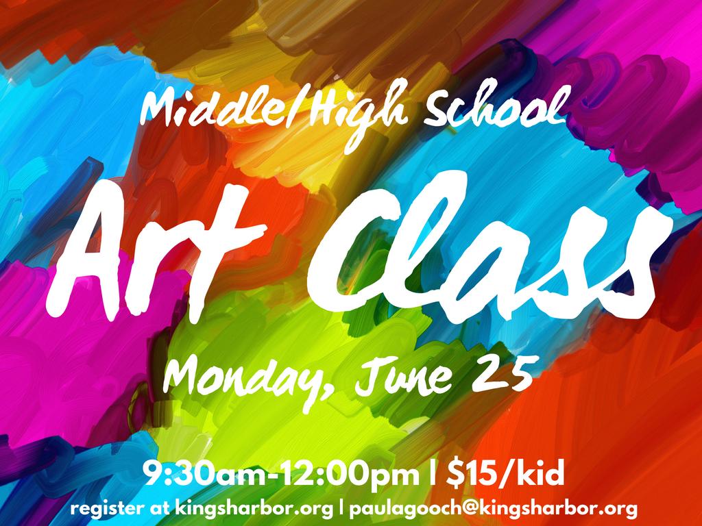 Ms hs summer art class 2.1