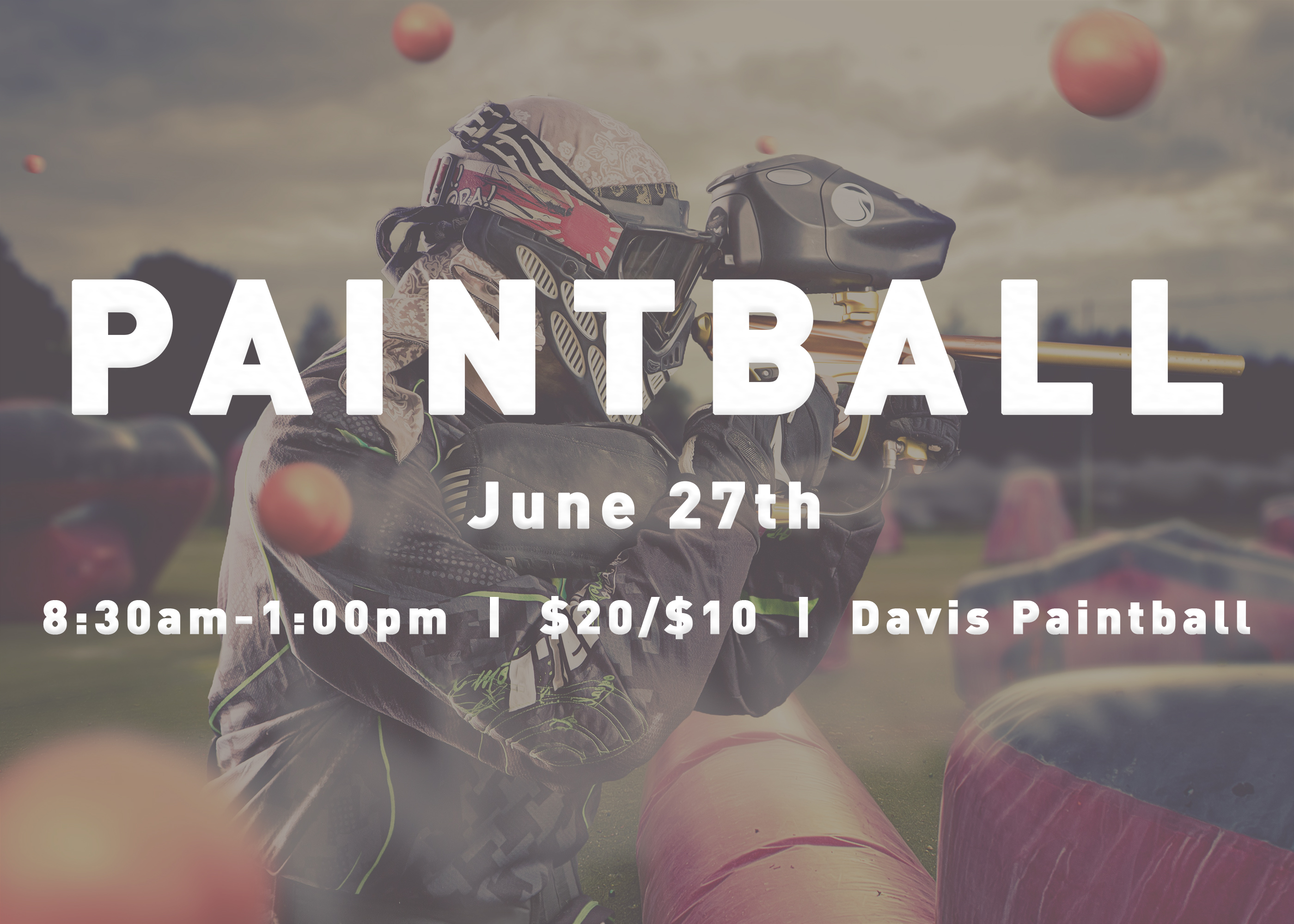 Lp students paintball