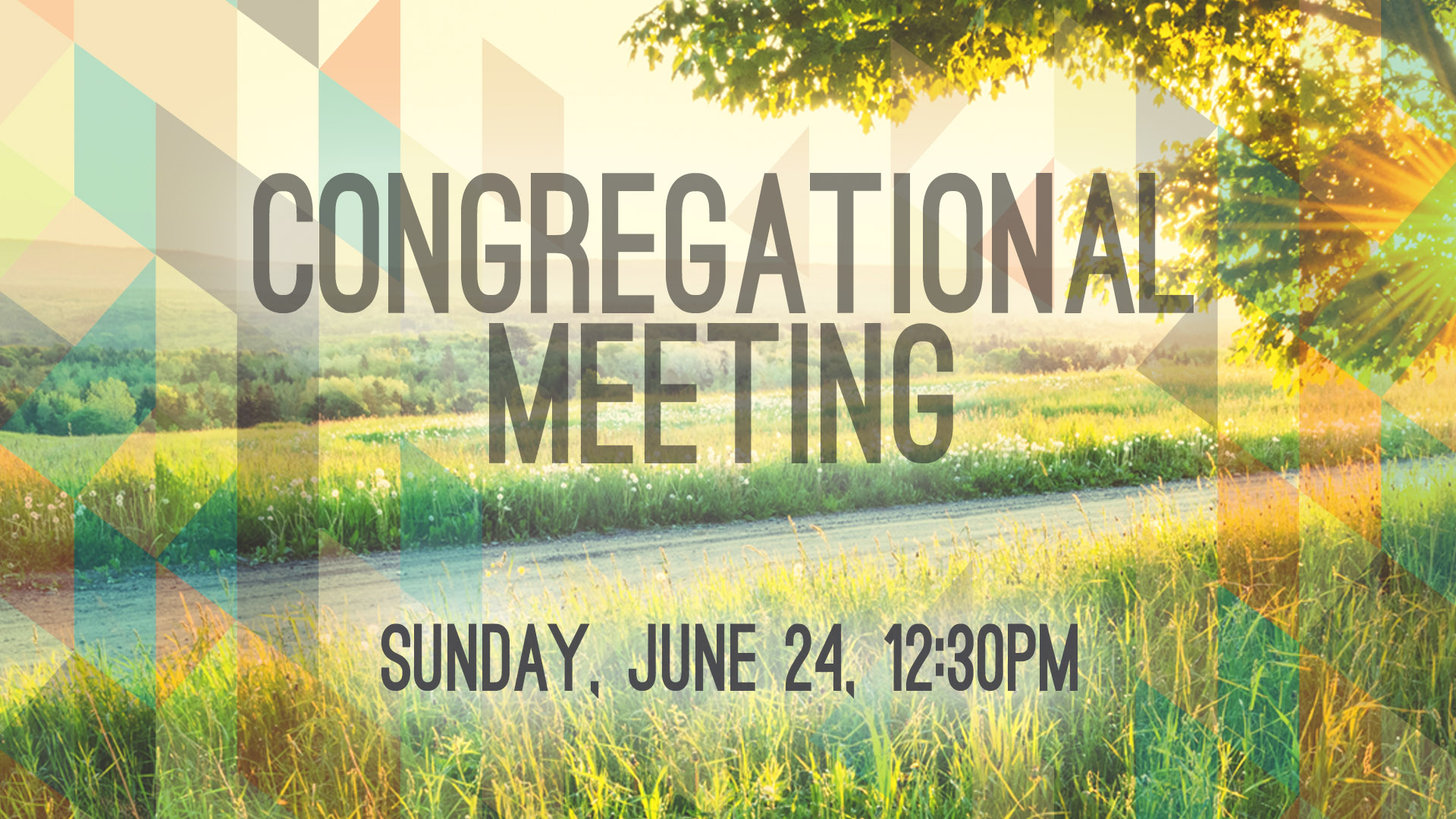 Congregational meeting hd