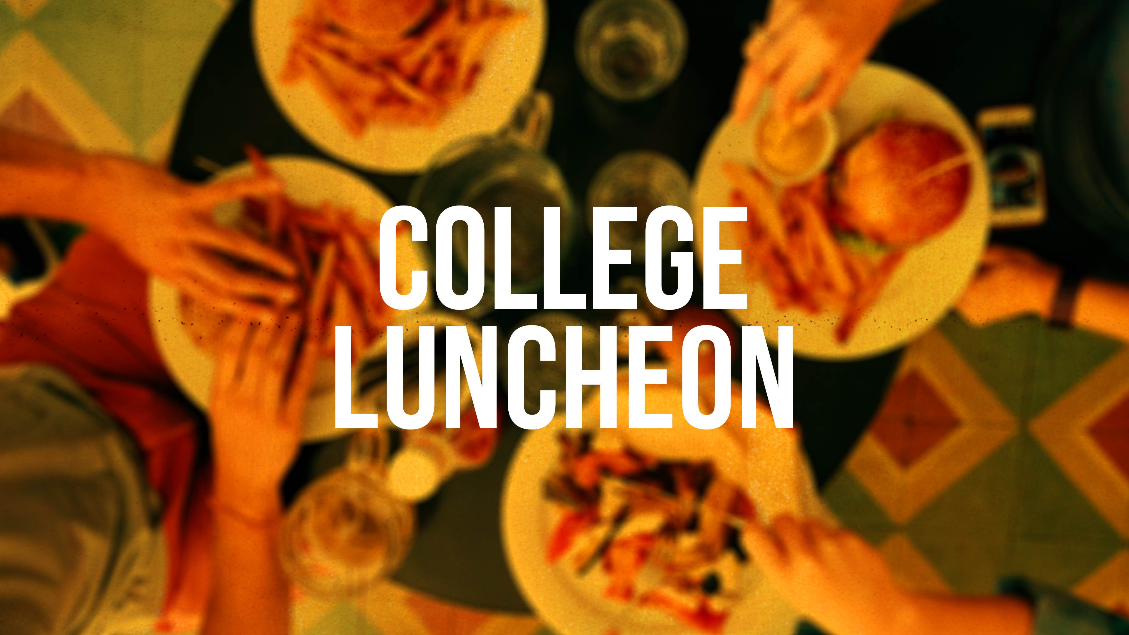 College luncheon