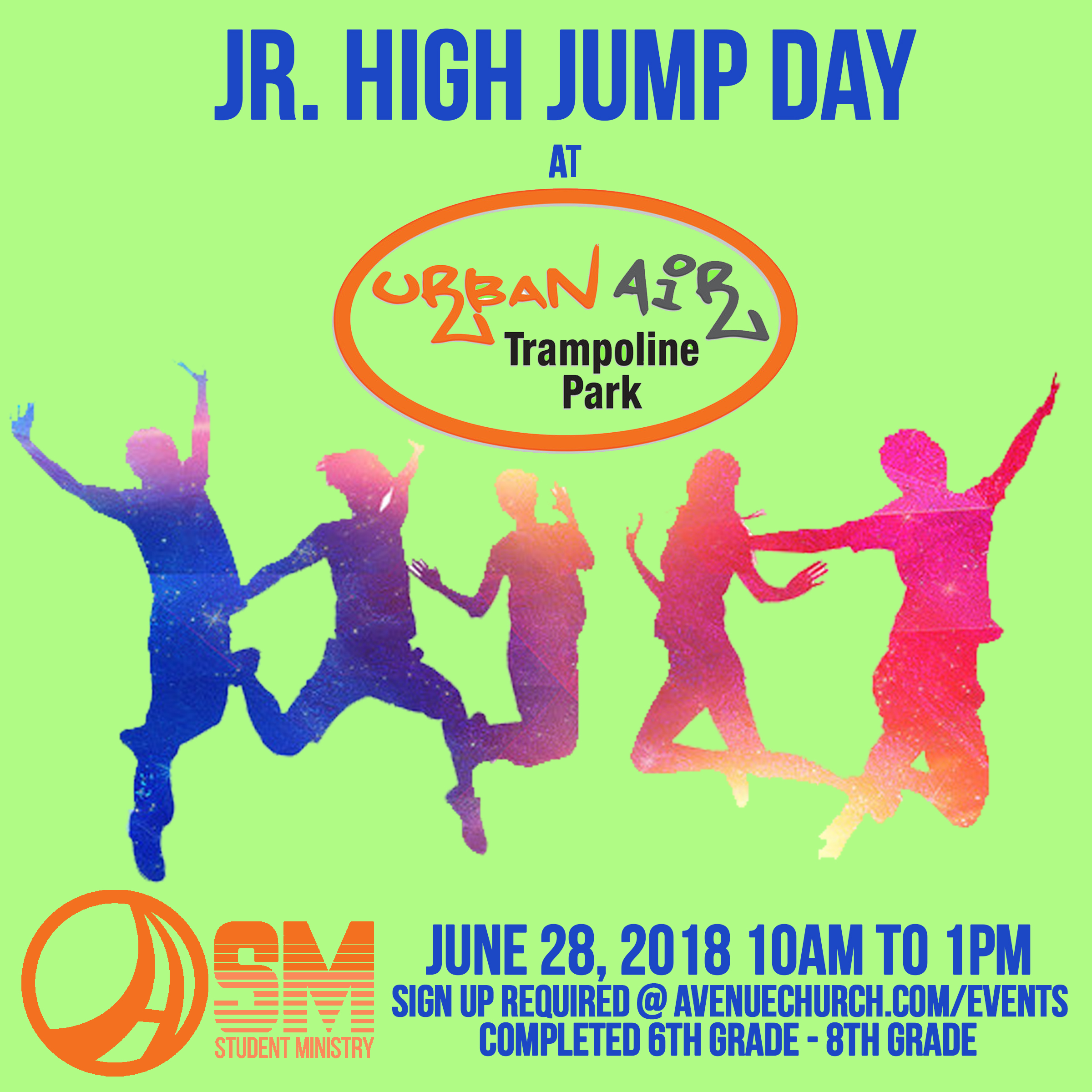 Jr. high jump day