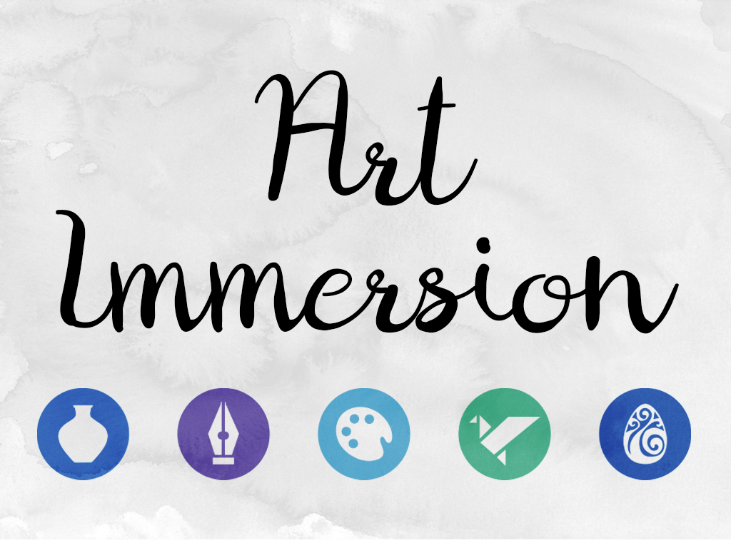 Art immersion event