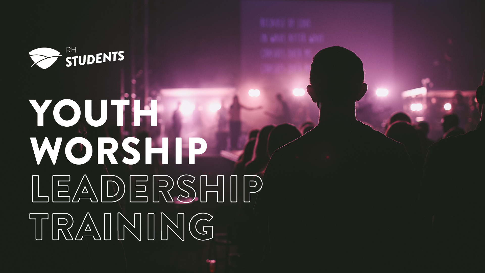 Youth worship leadership training 2018 title