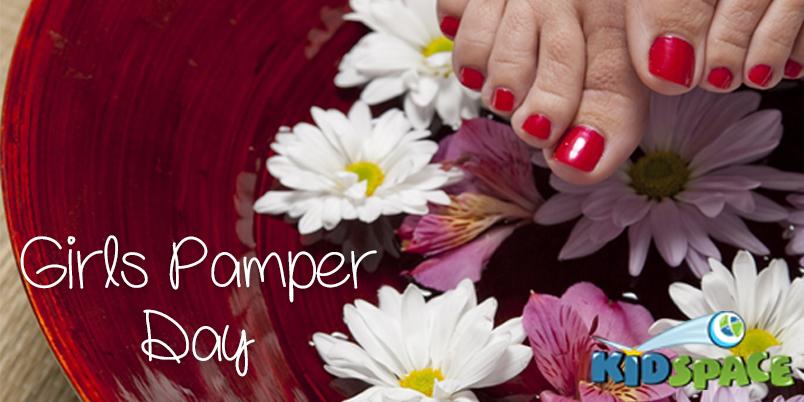 Pamper day registration 1807