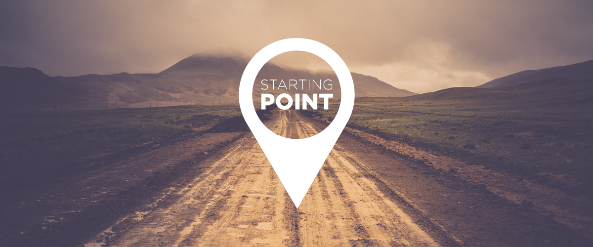 Starting point registration graphic