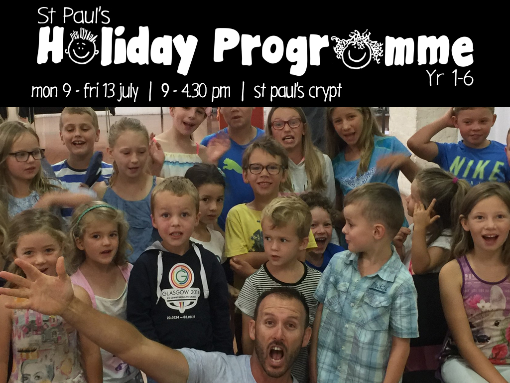 Holiday programme event registrations