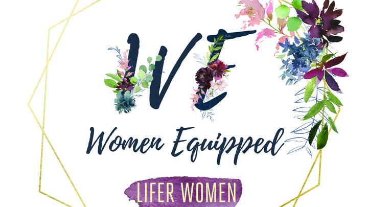 WE: Women Equipped 2018 logo image