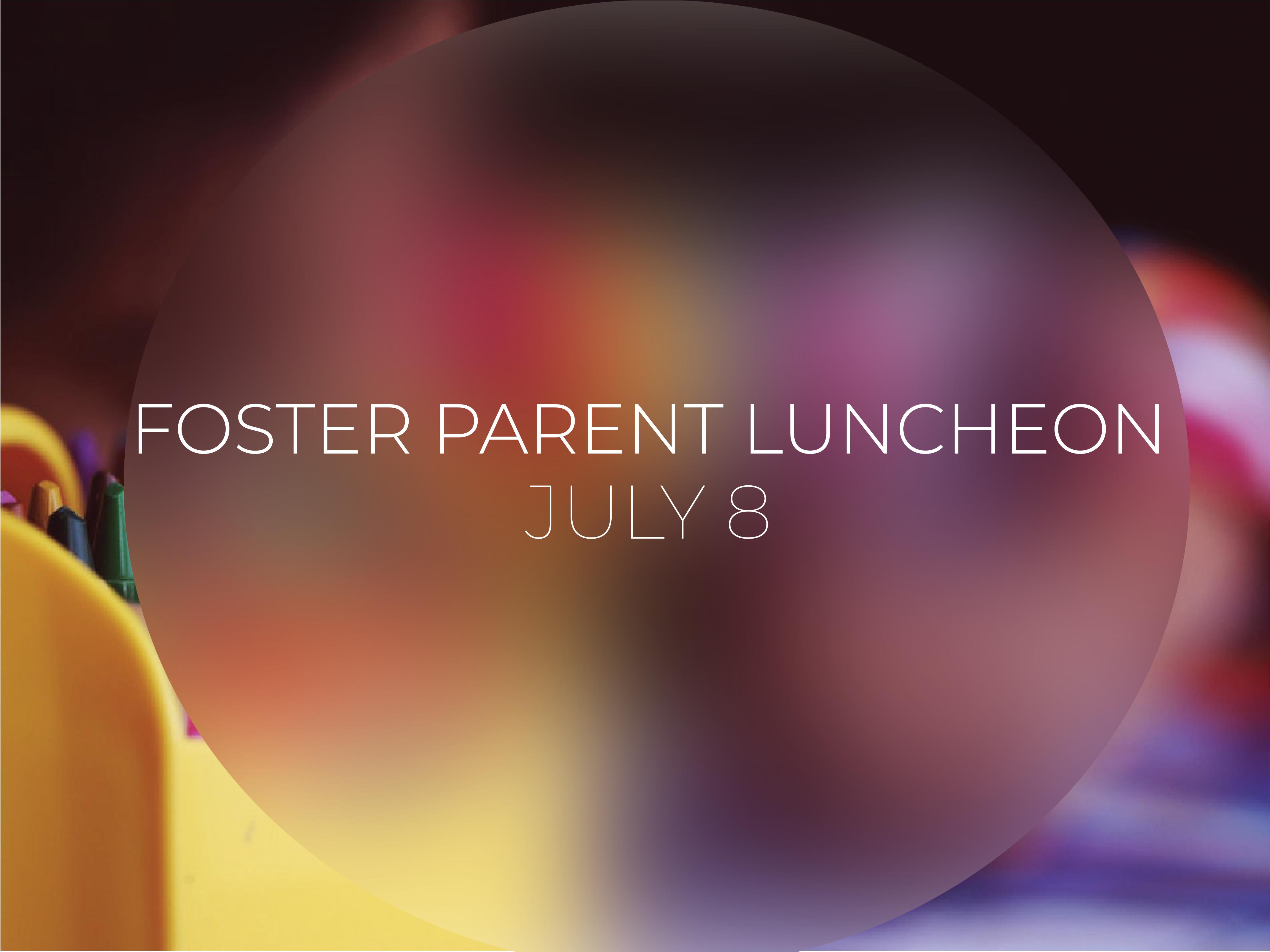 Foster parent luncheon pco registration