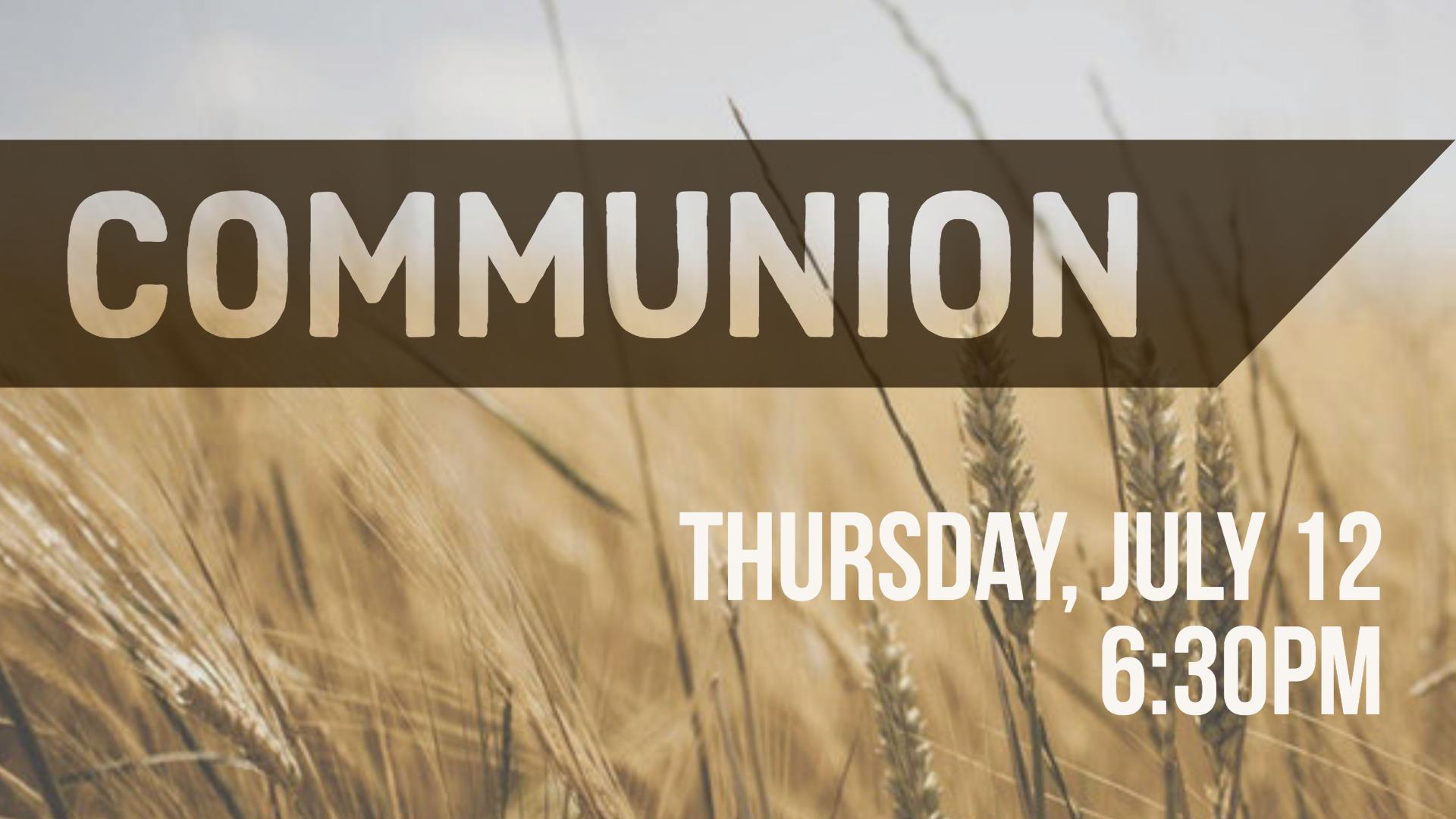 Communion   side screen  1