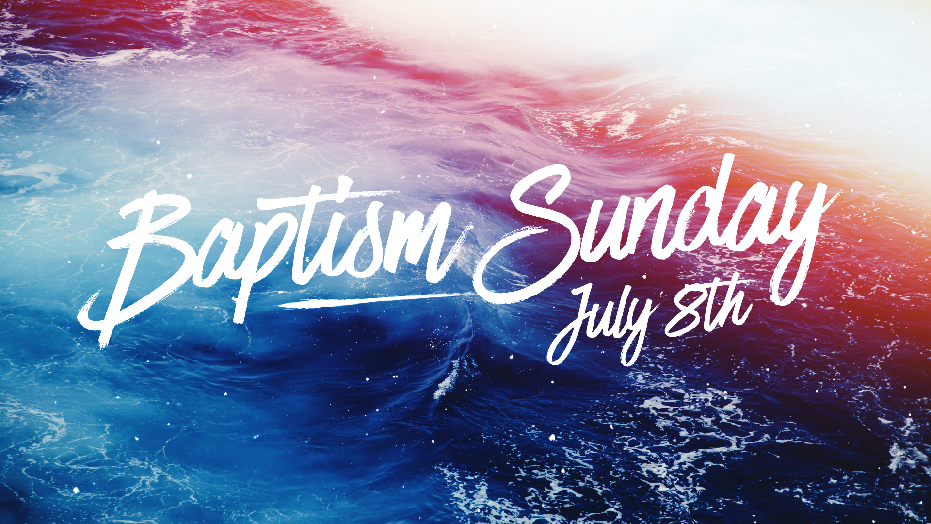 July 2018 baptisms