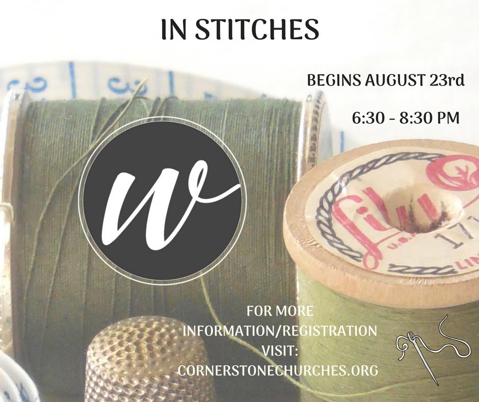 In stitches  1