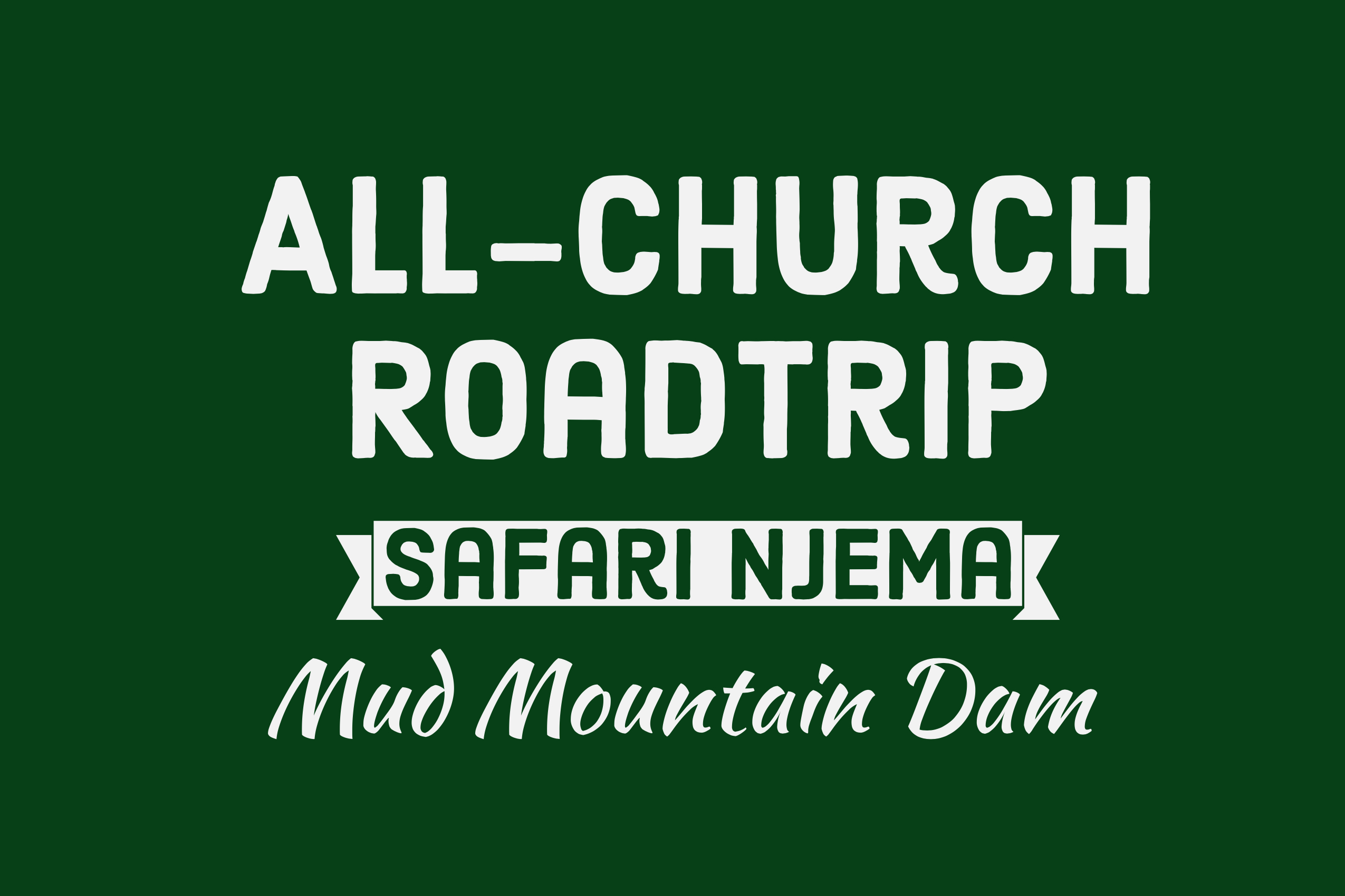 All church road trip sign website