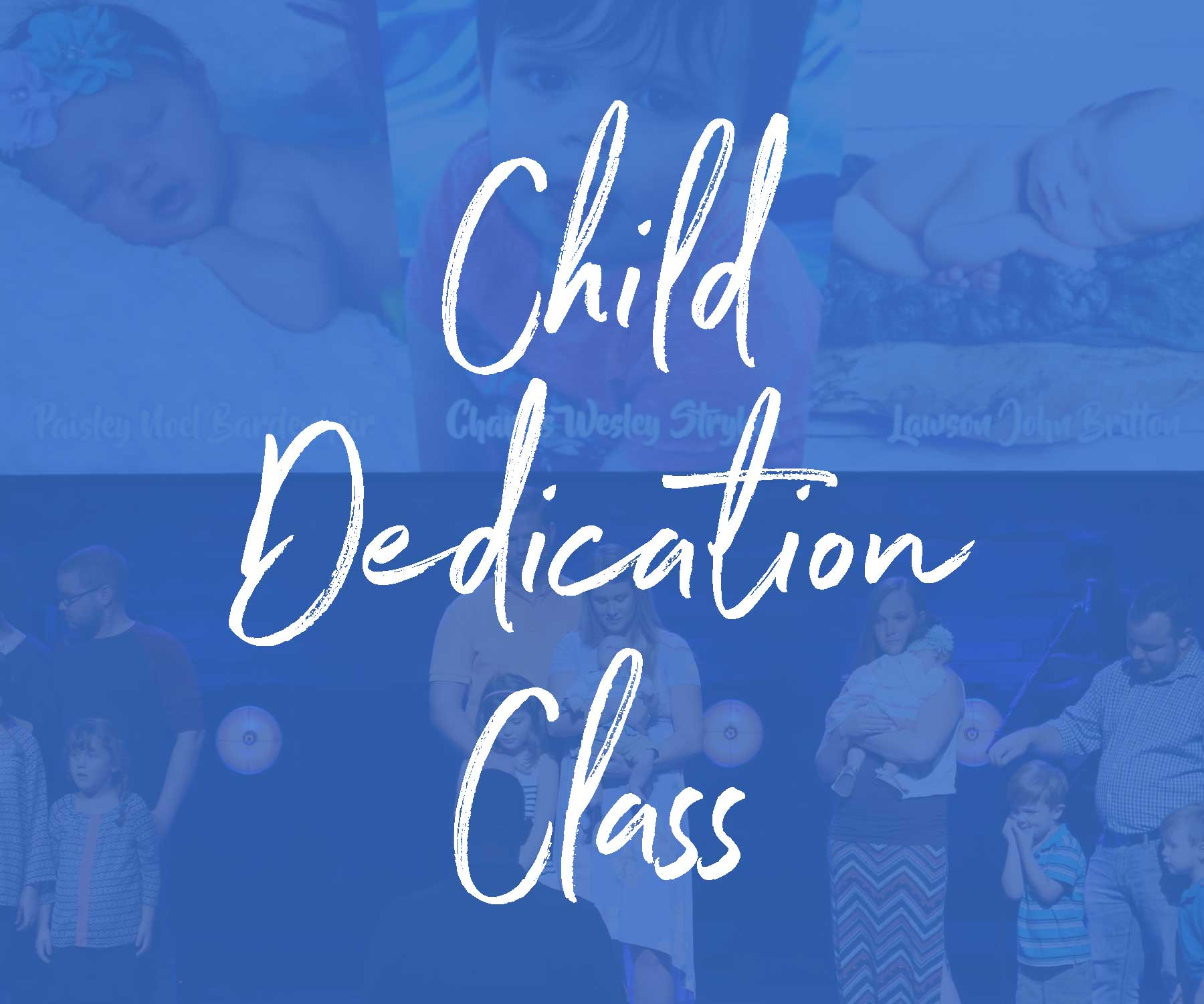Child dedication class 2