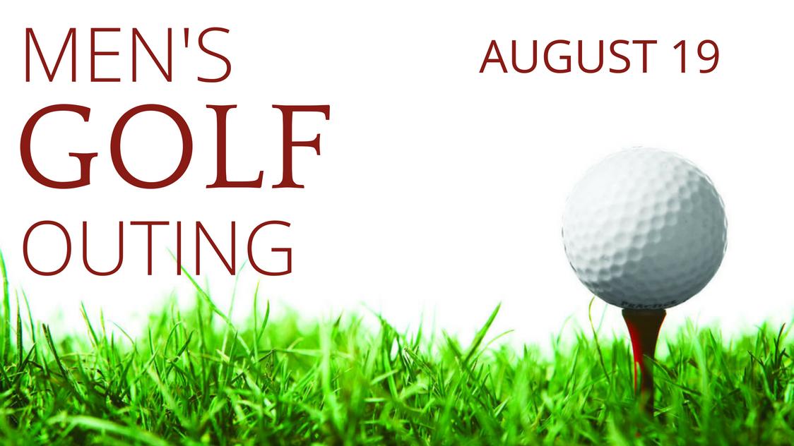 Men s golf outing registration image
