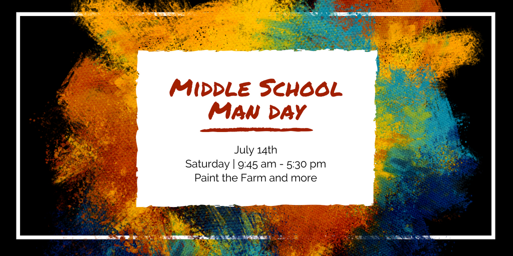 Middle school man day
