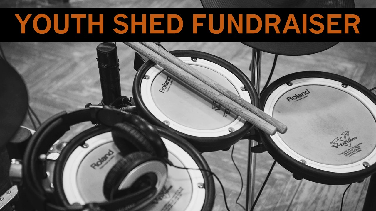 Drum kit fundraiser