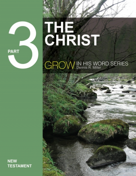 Book 3. grow in his word