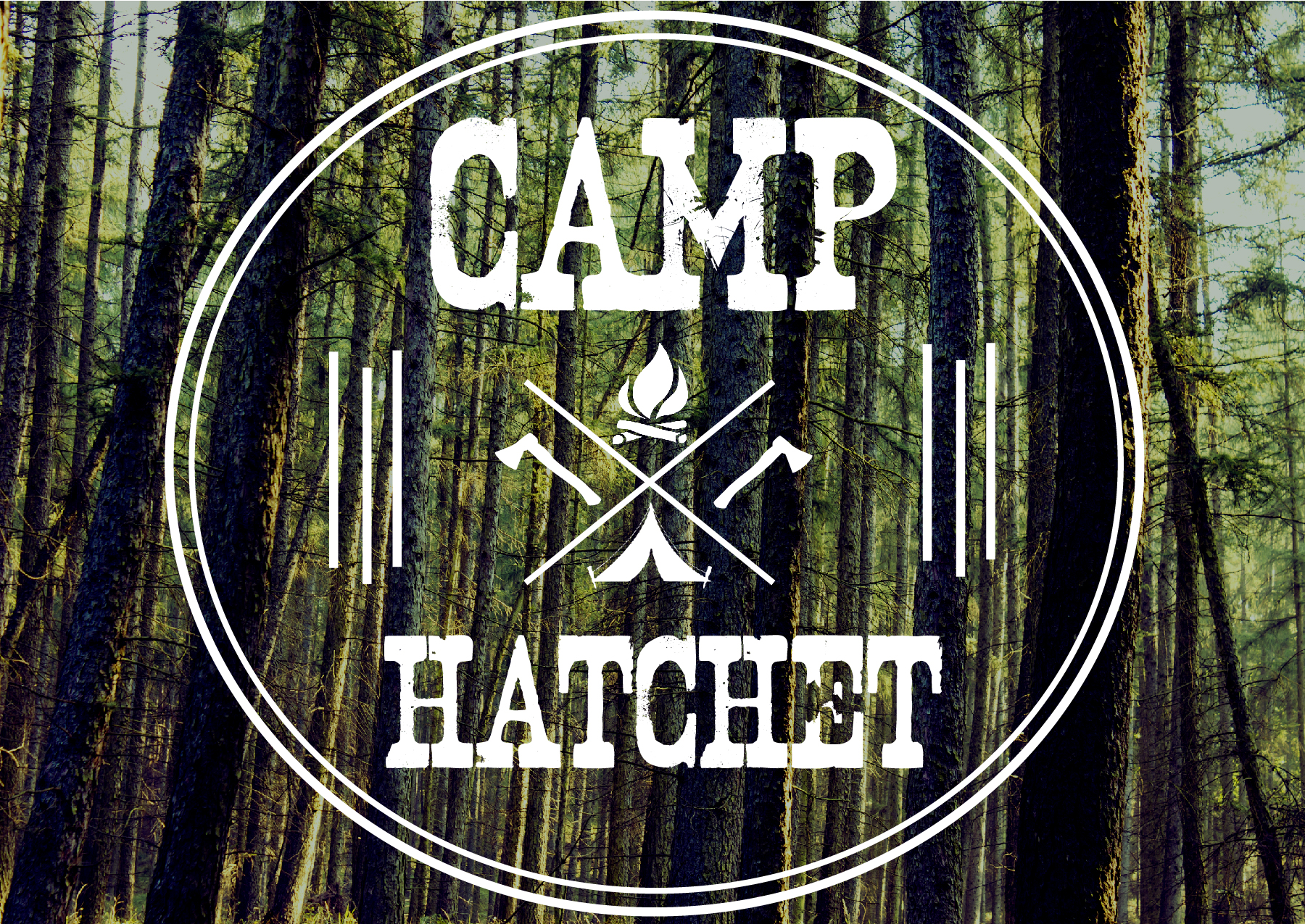 Camp hatchet logo no date 01