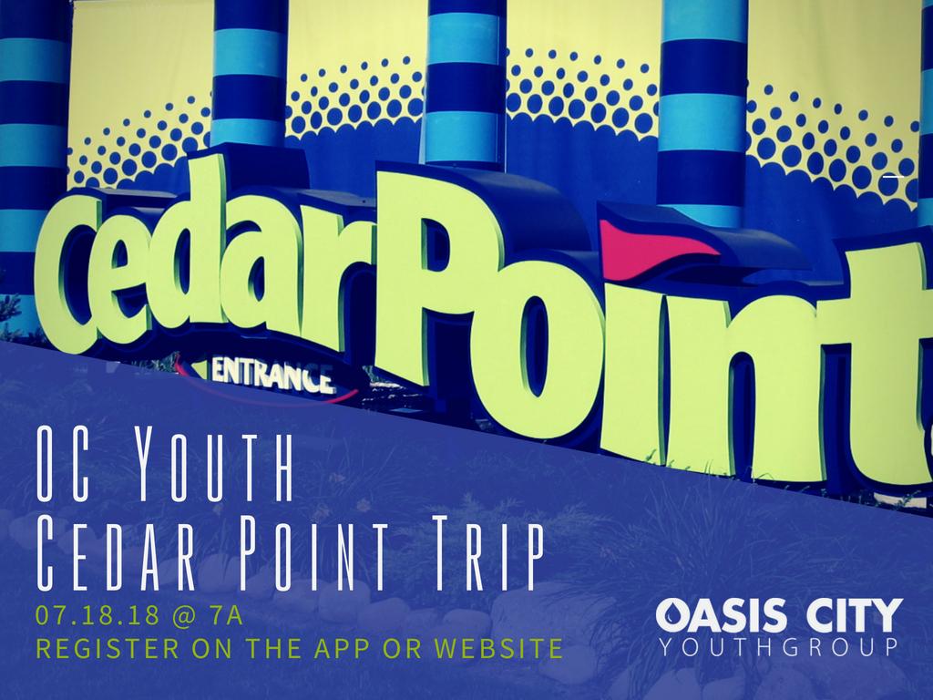Cedar point trip 4 3