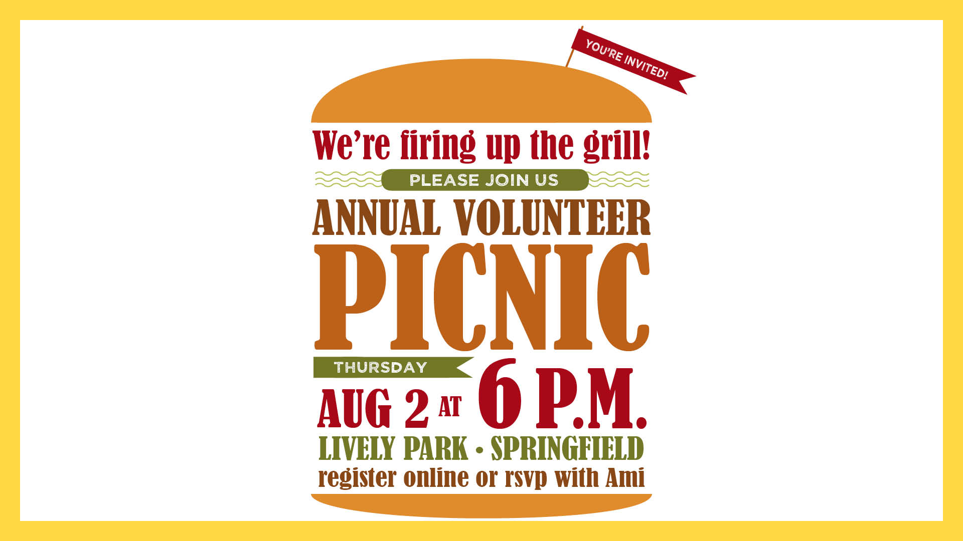 Volunteer picnic 2018