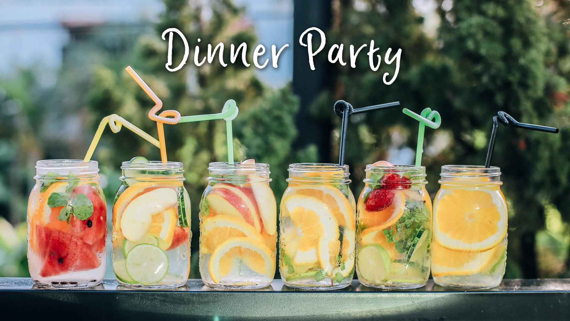 Dinner party plain