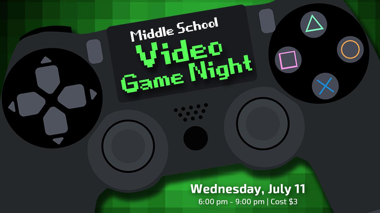 Video game night 1280x720