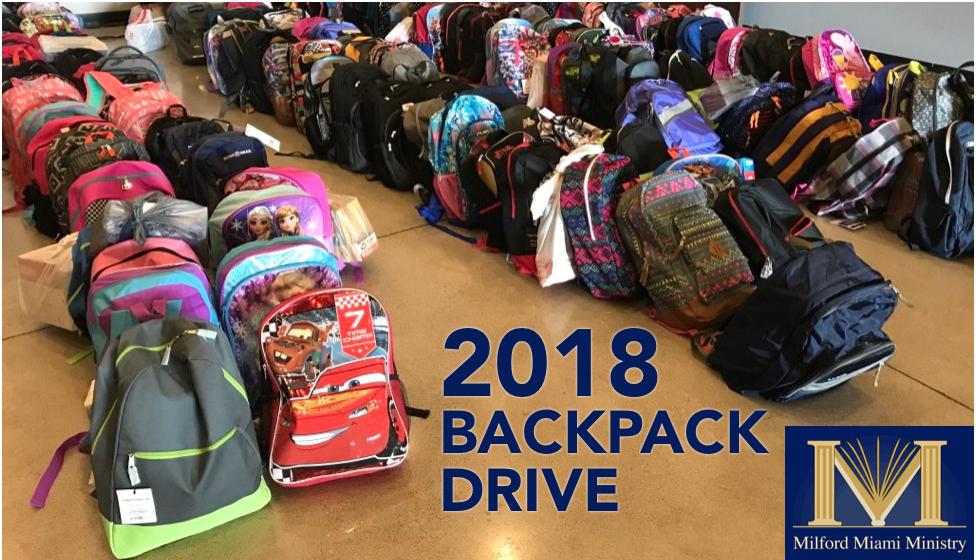 2018 backpack drive logo