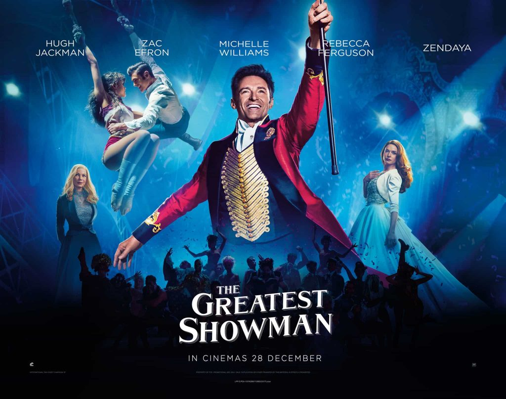 The greatest showman poster 1024x807