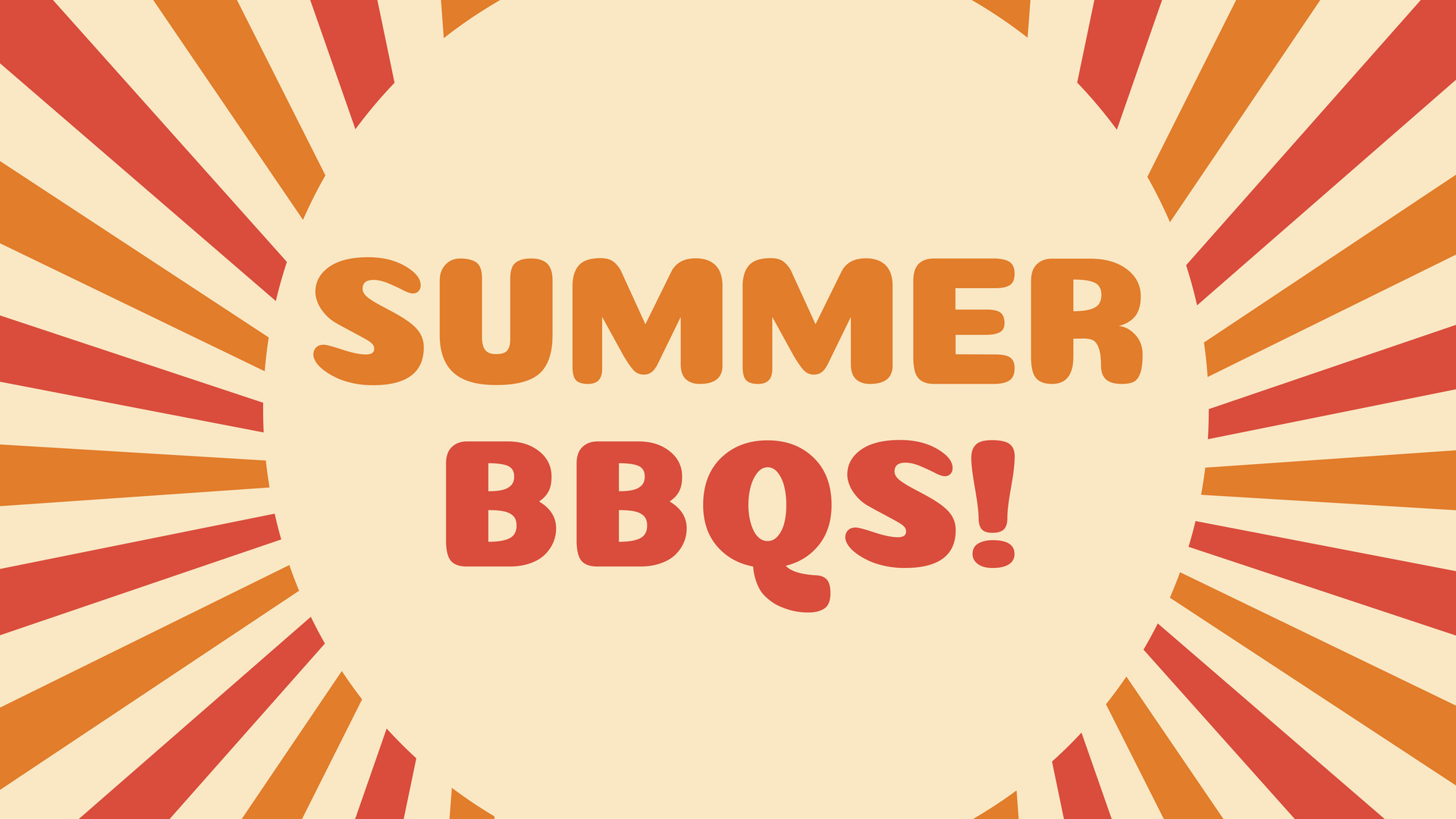Summer bbqs  3