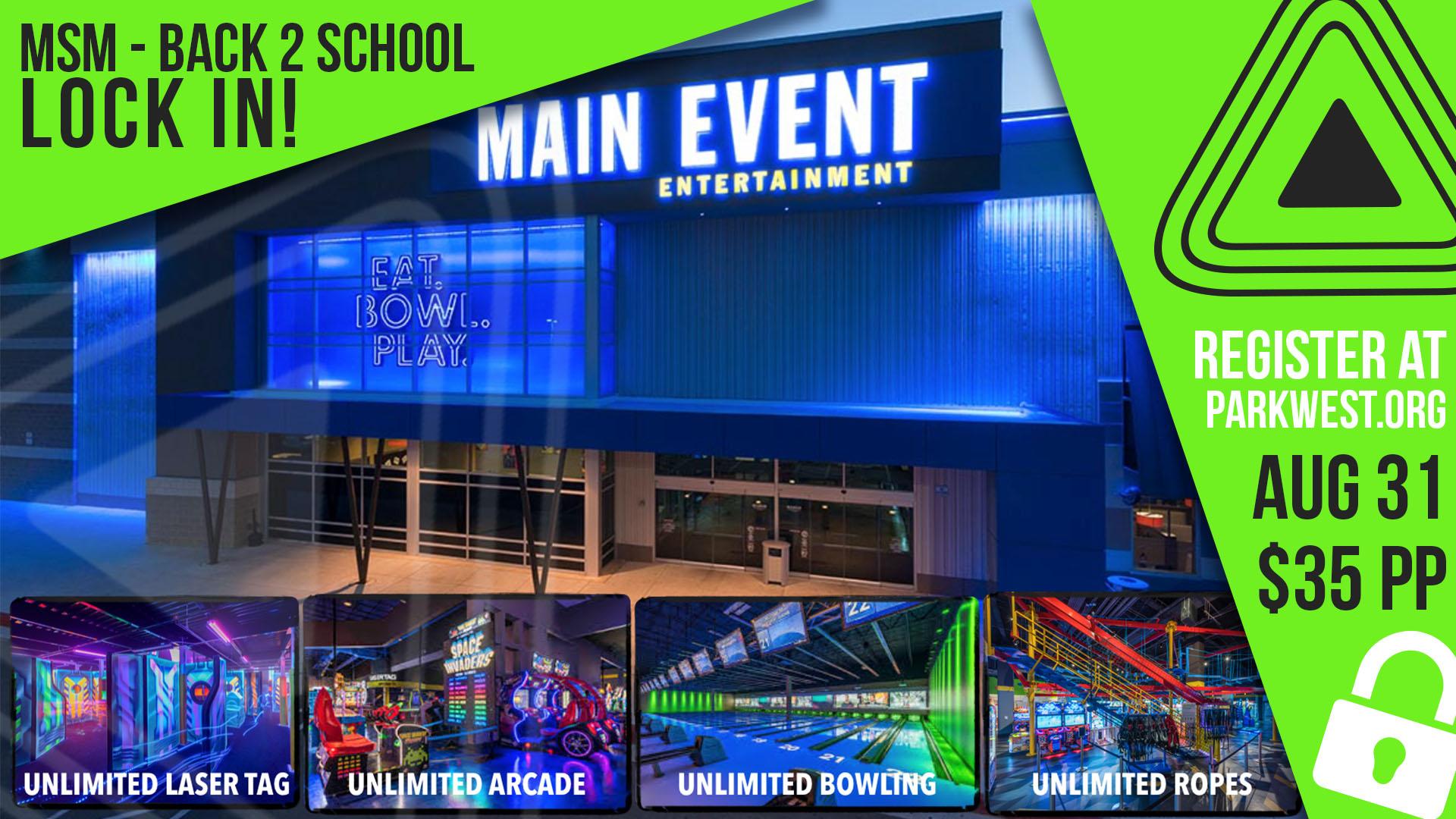 Main event graphic
