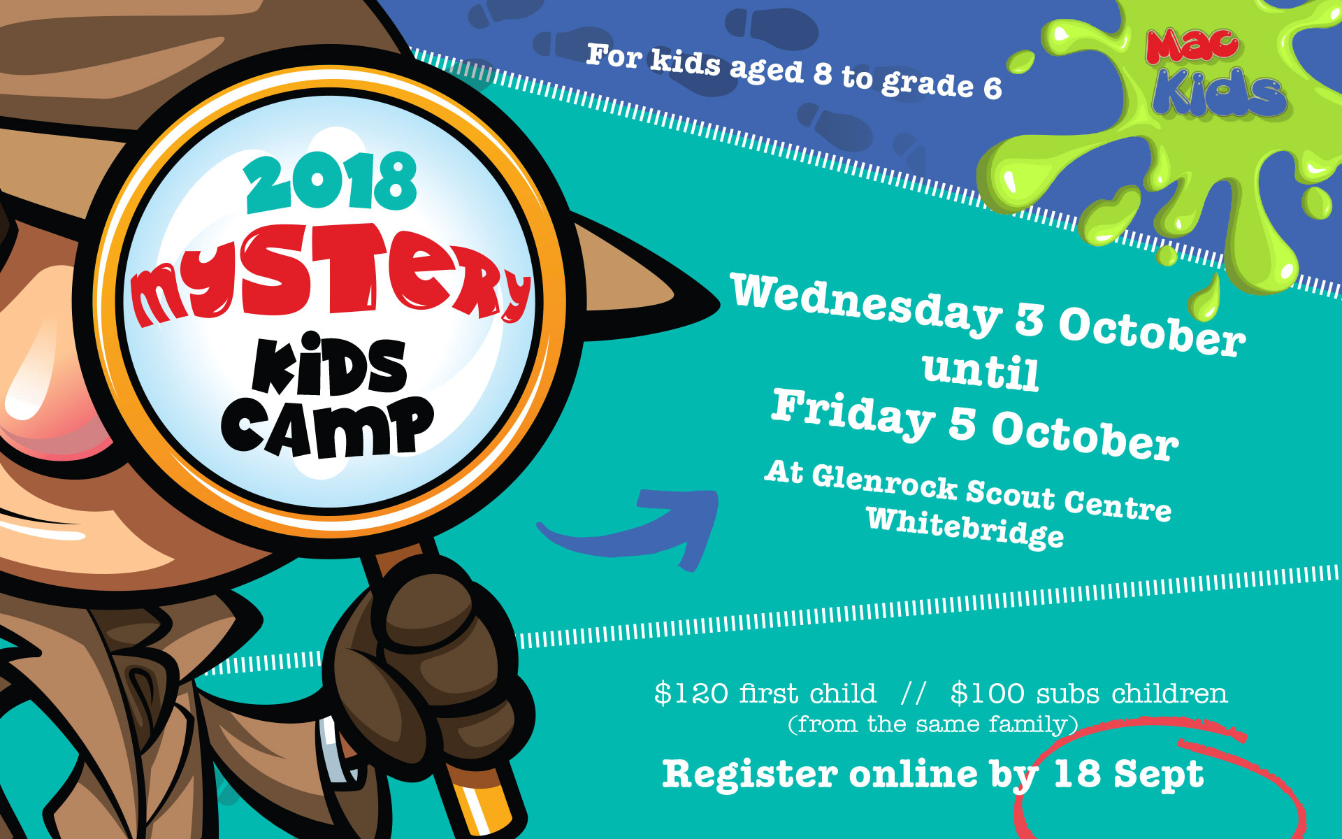 Mystery camp news reel