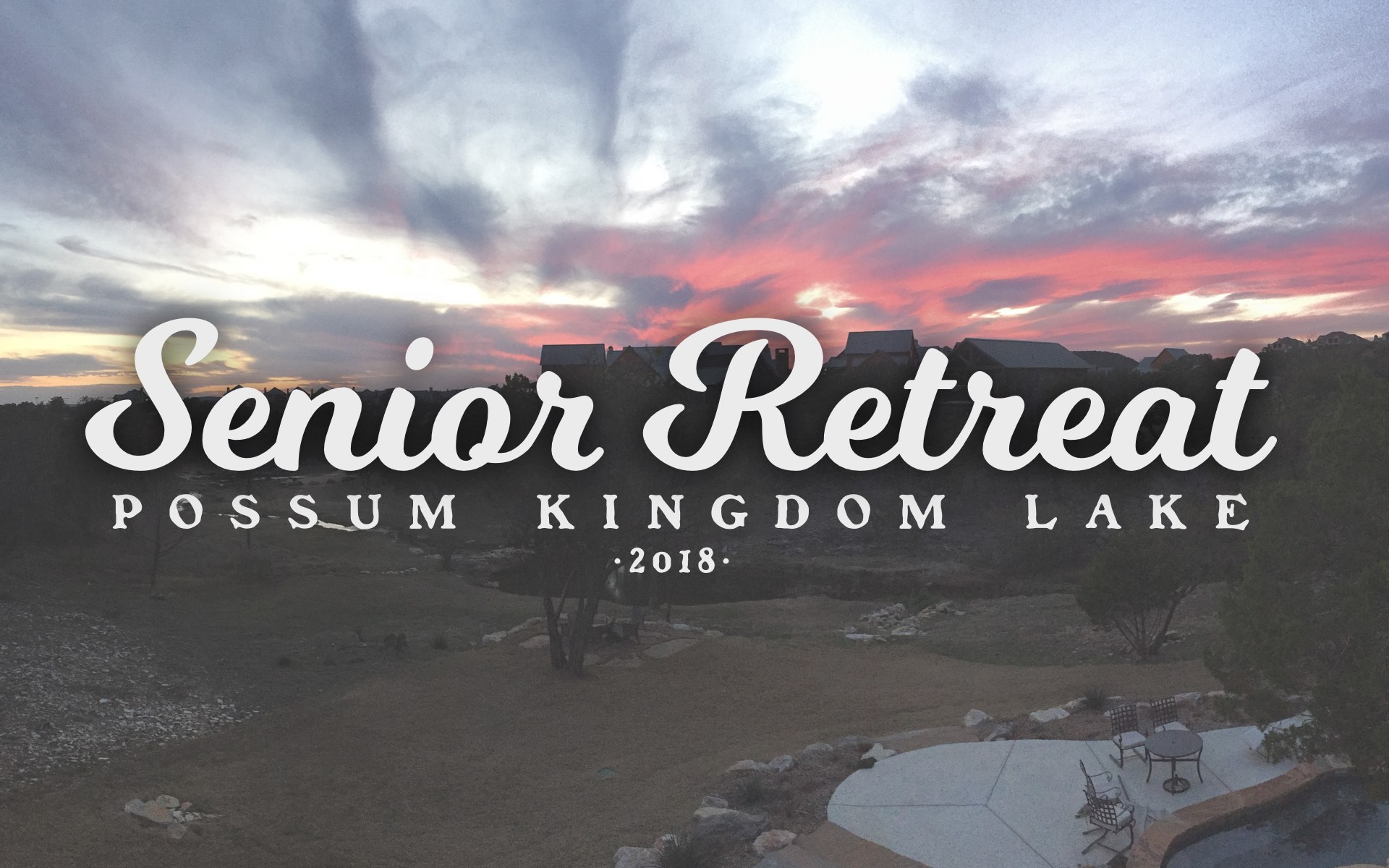 Senior retreat 2018 logo
