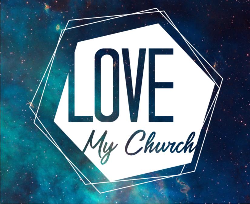 Love my church logo
