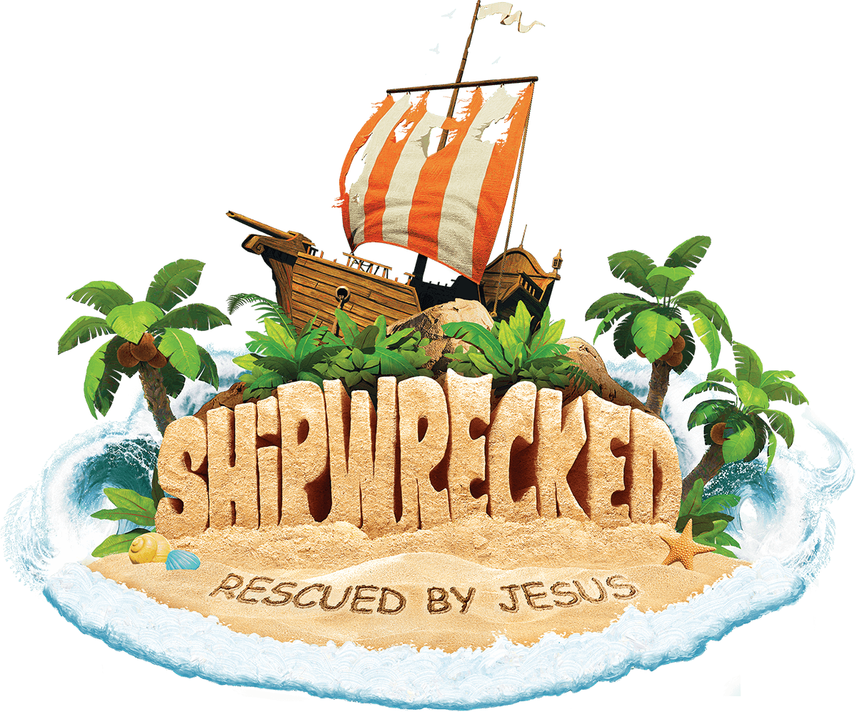 Shipwrecked 2018 easy vbs logo