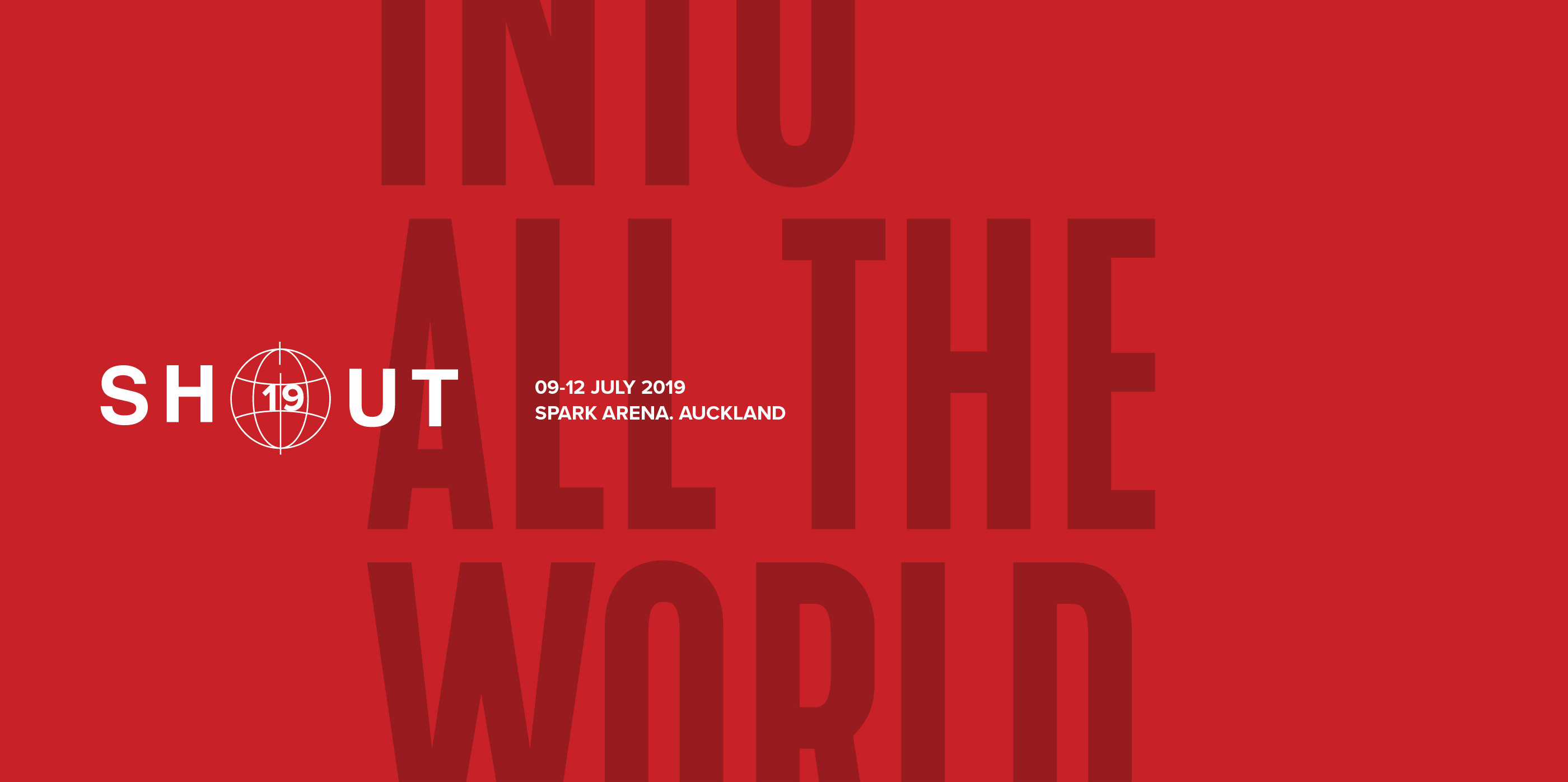 Into all the world rego banner