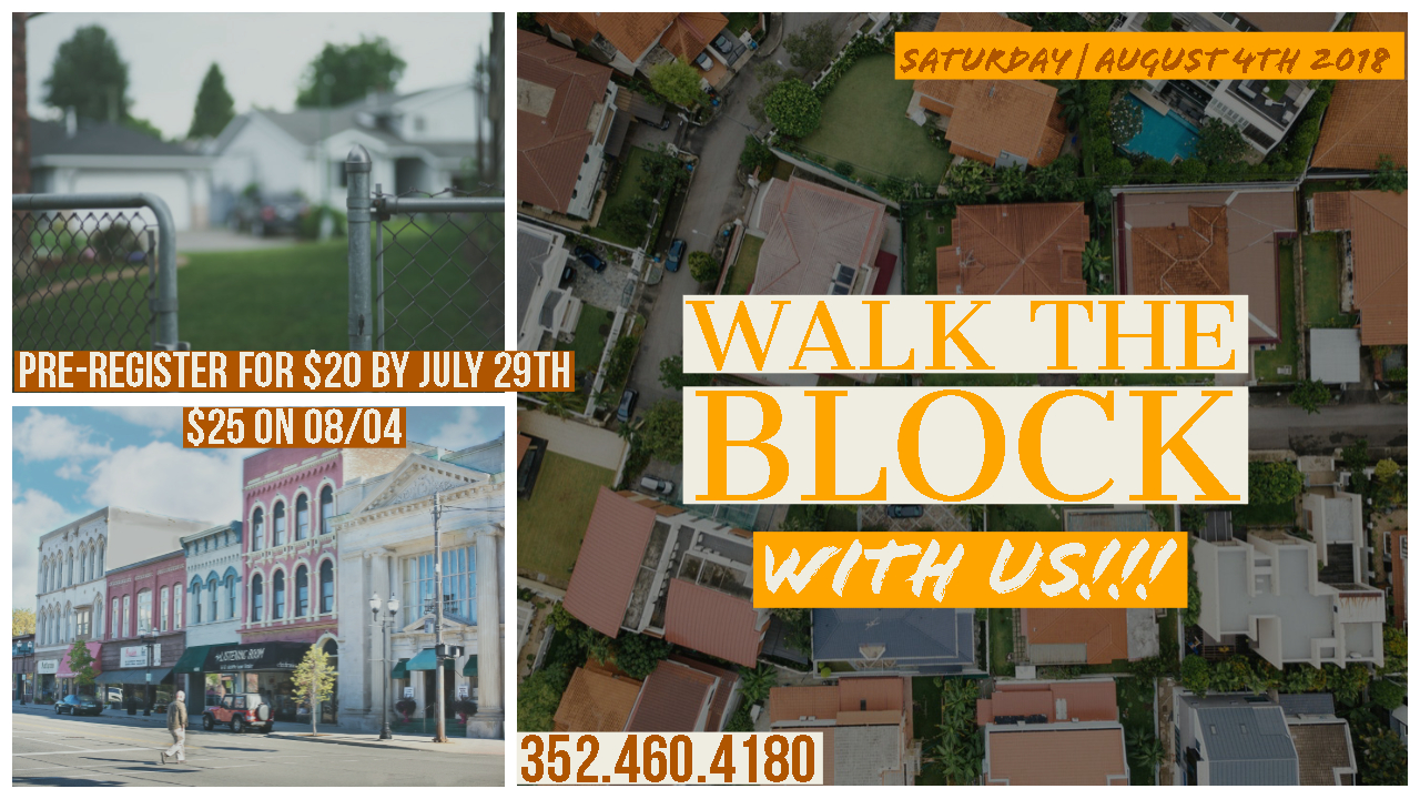 Walk the block with us
