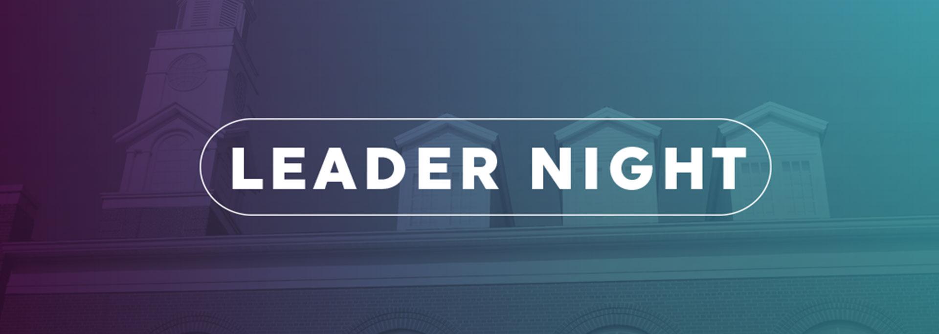 General header leader night