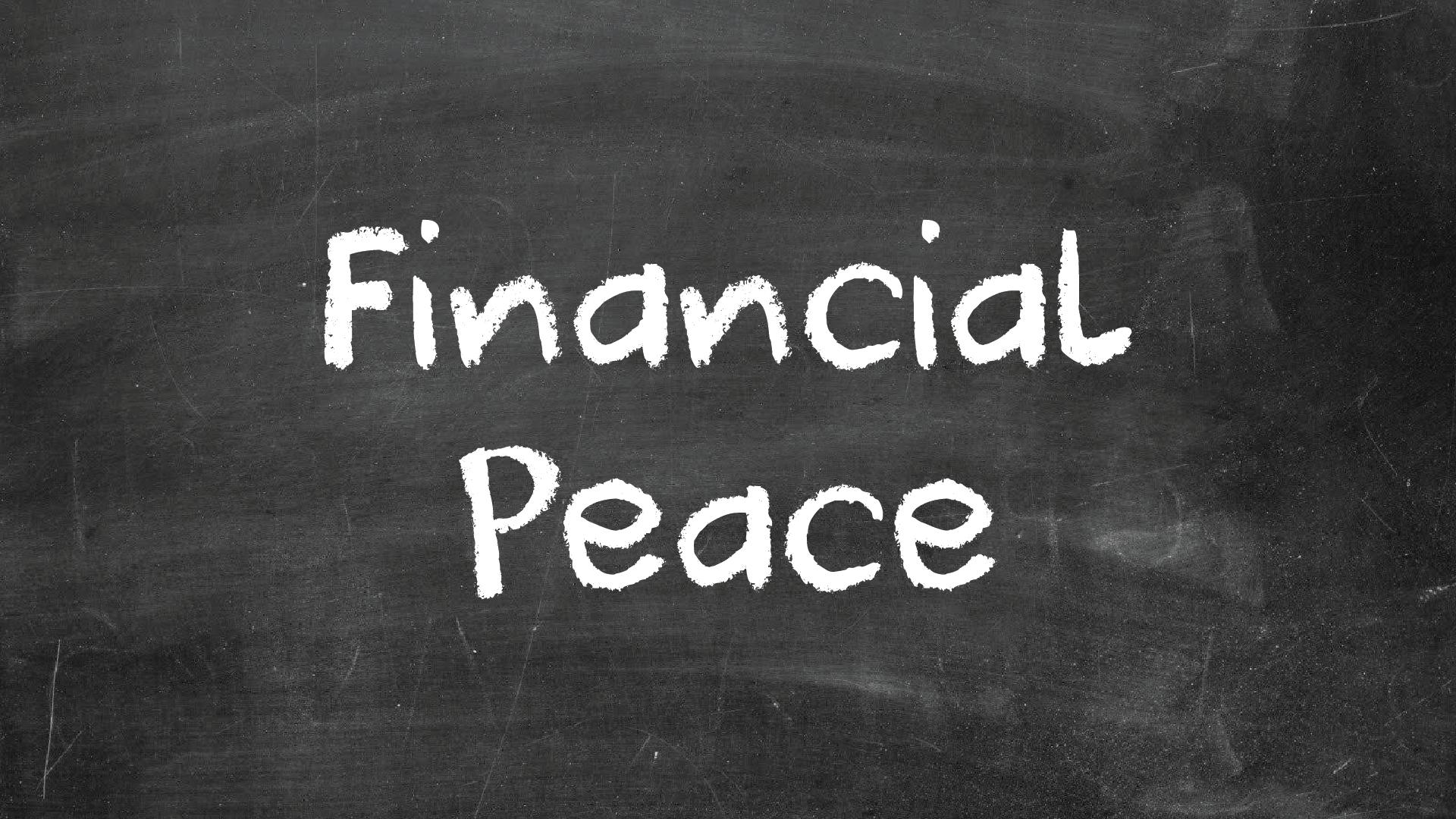 Financial peace 01