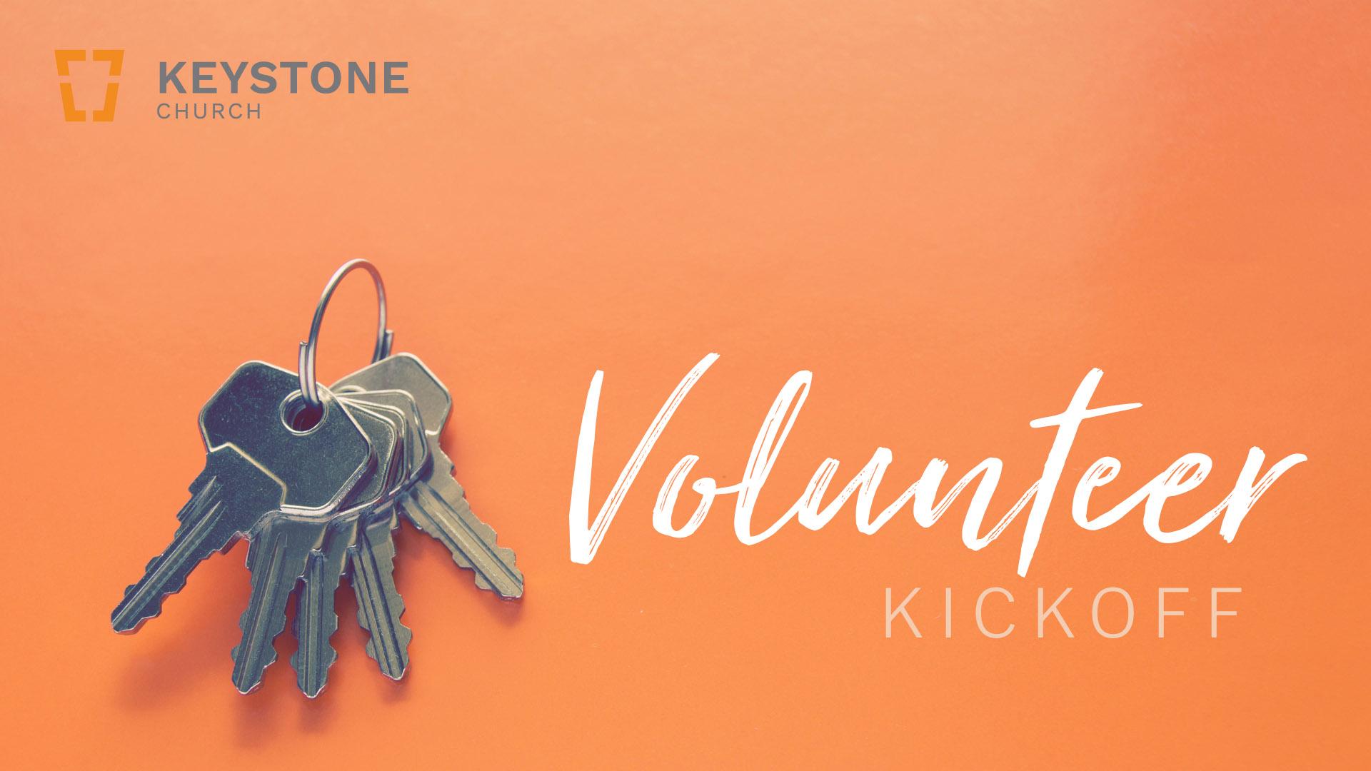 Volunteer kickoff identity