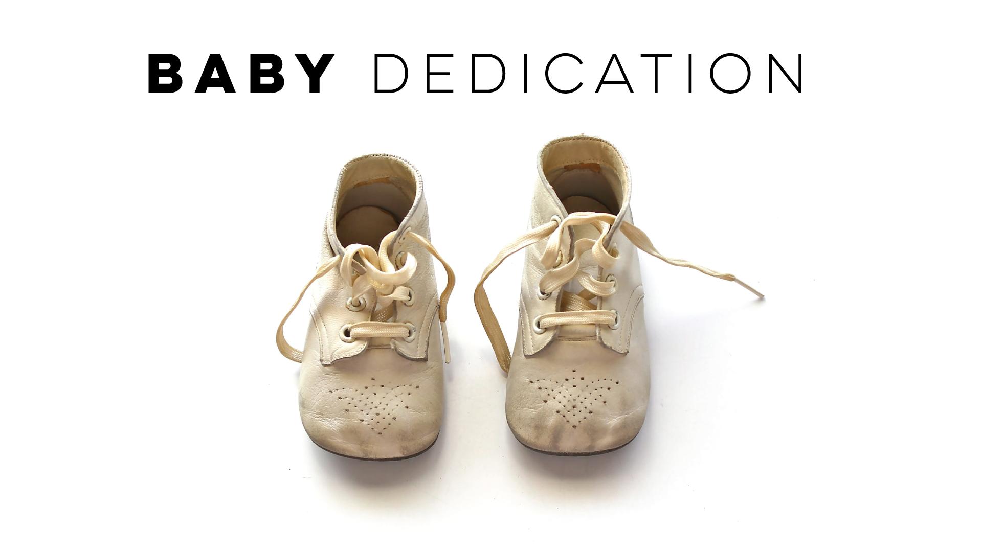 Baby dedication 2016
