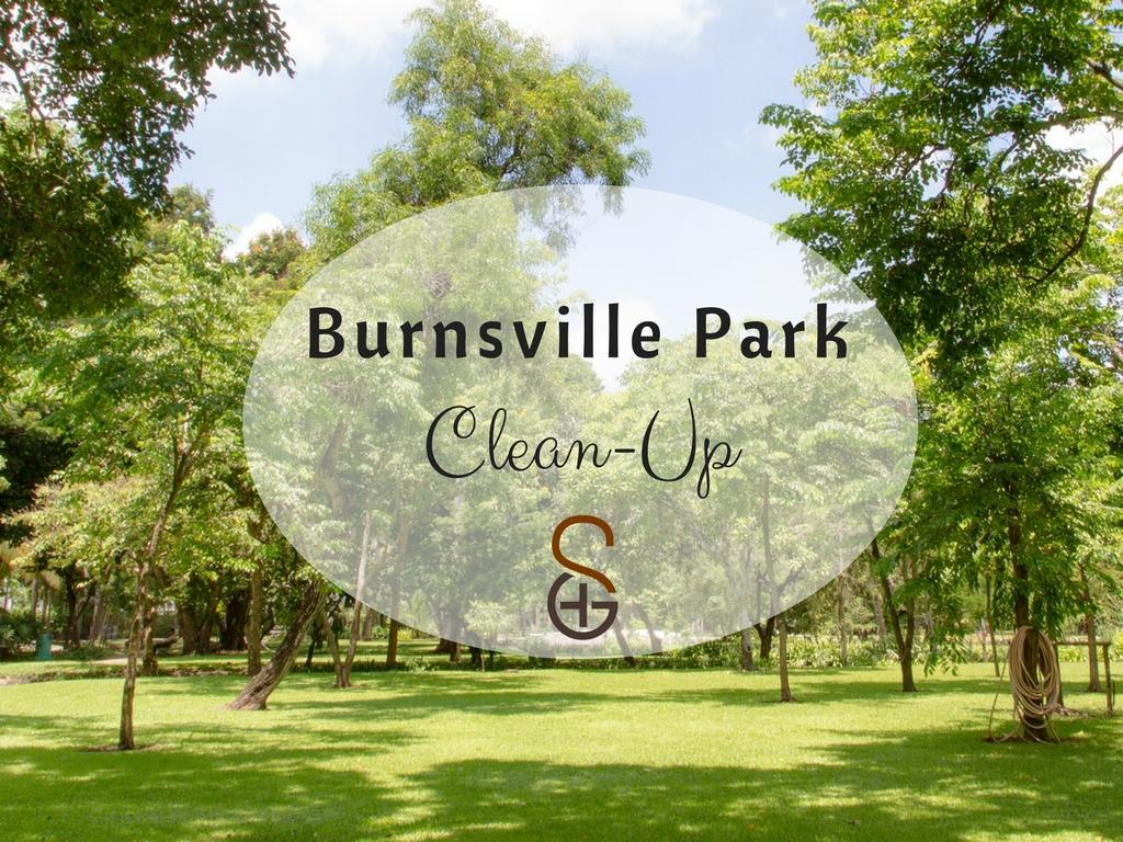 2018 burnsville park clean up  promo